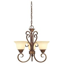 <strong>Westinghouse Lighting</strong> Regal Springs 3 Light Chandelier