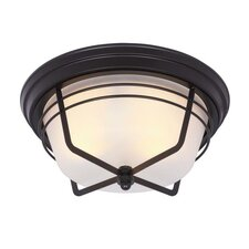 Bonneville 2 Light Outdoor Flush Mount