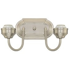 2 Light Interior Wall Fixture
