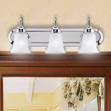 3 Light Bathroom Vanity Light