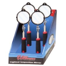 Lighted Inspection Mirror 4-Pack