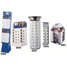 <strong>Uvex by Sperian</strong> 20 Unit Retail Roto Counter Displays - 36 pc counter top display