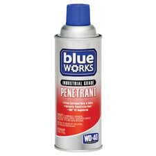 Wd-40 - Blue Works Industrial Grade Penetrants Wd-40 Blue Works Penetrant 11 Oz.: 780-110269 - wd-40 blue works penetrant 11 oz.