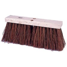 "Street Brooms - 16"" street broom bass fiber fill"