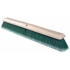 "Perma-Sweep™ Floor Brushes - 24"" perma-sweep floor brush maroon synt"