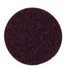 "Plastic Button Style Discs - 3"" non-woven surface conditioner disc ao-coarse"