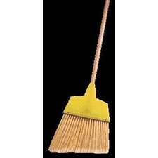 "<strong>Weiler</strong> Large Angle Broom With 7 1/2"" - 5 3/4"" Flagged Plastic Fill"