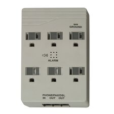 Home Office 6-Outlet 1000-Joule Surge Protector