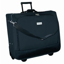 Rolling Garment Bag Carrier in Black