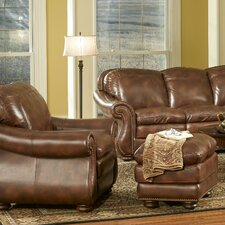 Duplin Club Chair and Ottoman
