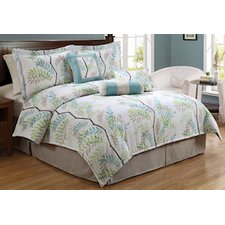 Trinity Tree Queen Comforter Set with Bonus Pillows