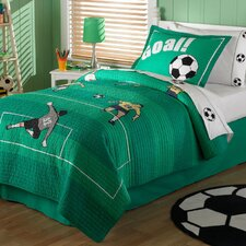 Soccer 2 Piece Quilt Set