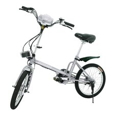 "Boy's 18"" Sunrunner Power Assist Folding Electric Bike"