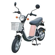 Girl's Emoped Electric Bike