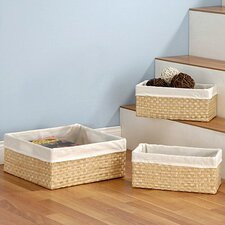 3 Piece Sea Grass Baskets