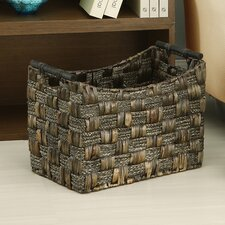 Water Hyacinth and Maize Braid Basket (Set of 3)