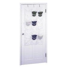 Zephyr 24 Pocket Overdoor Hat Organizer (Set of 2)