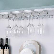 Wall Mount Wine Glass Rack