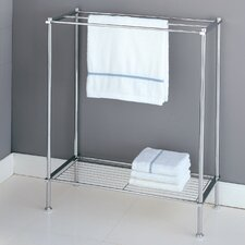 Metro Towel Rack in Chrome