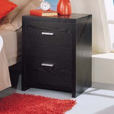 Dusk 2 Drawer Nightstand