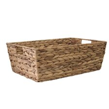 Organize It All Water Hyacinth Tapered Basket