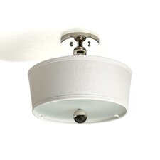 Zelda 3 Light Semi Flush Mount