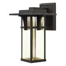 Manhattan 1 Light Outdoor Wall Sconce