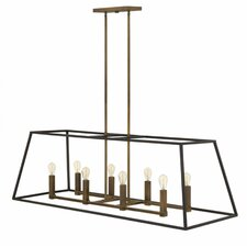 Fulton 8 Light Kitchen Island Pendant
