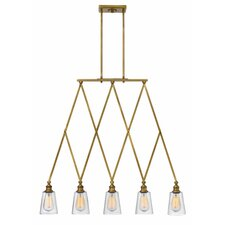Gatsby 5 Light Kitchen Island Pendant