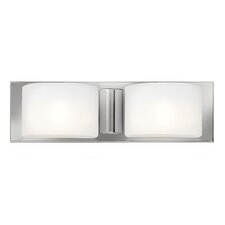 Daria 2 Light Bath Vanity Light