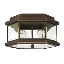 <strong>Hinkley Lighting</strong> Clifton Park Outdoor Flush Mount