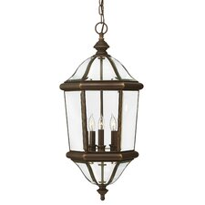 <strong>Hinkley Lighting</strong> Augusta 3 Light Hanging Lantern
