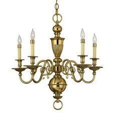 <strong>Hinkley Lighting</strong> Cambridge 5 Light Chandelier
