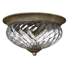 Plantation 3 Light Flush Mount