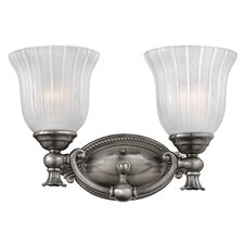 Francoise 2 Light Bath Vanity Light