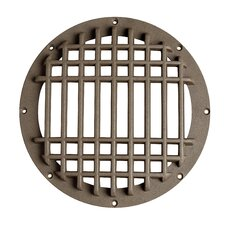 Grid Cover for Small In Ground Well Light in Bronze