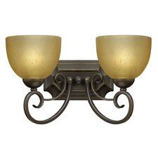 <strong>Hinkley Lighting</strong> Canyon Ridge 2 Light Wall Sconce
