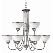 <strong>Hinkley Lighting</strong> Carina 9 Light Chandelier