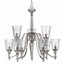 <strong>Hinkley Lighting</strong> Chandon 9 Light Chandelier