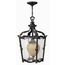 Sorrento 1 Light Outdoor Hanging Lantern
