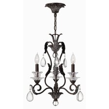 <strong>Hinkley Lighting</strong> Marcellina 3 Light Chandelier