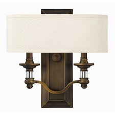 Sussex 2 Light Wall Sconce