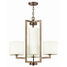<strong>Hinkley Lighting</strong> Hampton 4 Light Chandelier