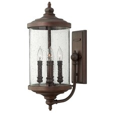 <strong>Hinkley Lighting</strong> Barrington 4 Light Medium Outdoor Wall Lantern
