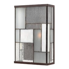 Mondrian 2 Light Medium Outdoor Wall Lantern