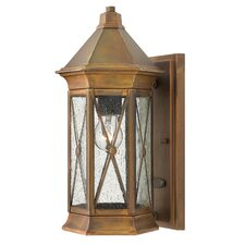 <strong>Hinkley Lighting</strong> Brighton 1 Light Small Outdoor Wall Lantern