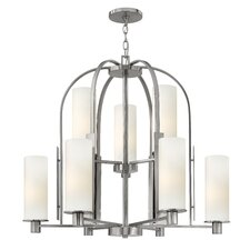 <strong>Hinkley Lighting</strong> Piper 9 Light Chandelier