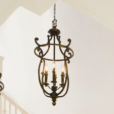 Plymouth 8 Light Invert Foyer Pendant