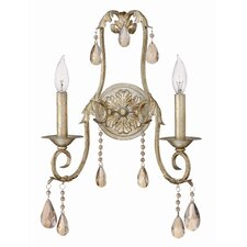 Carlton 2 Light Wall Sconce