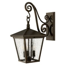 Trellis 3 Light Medium Outdoor Wall Lantern